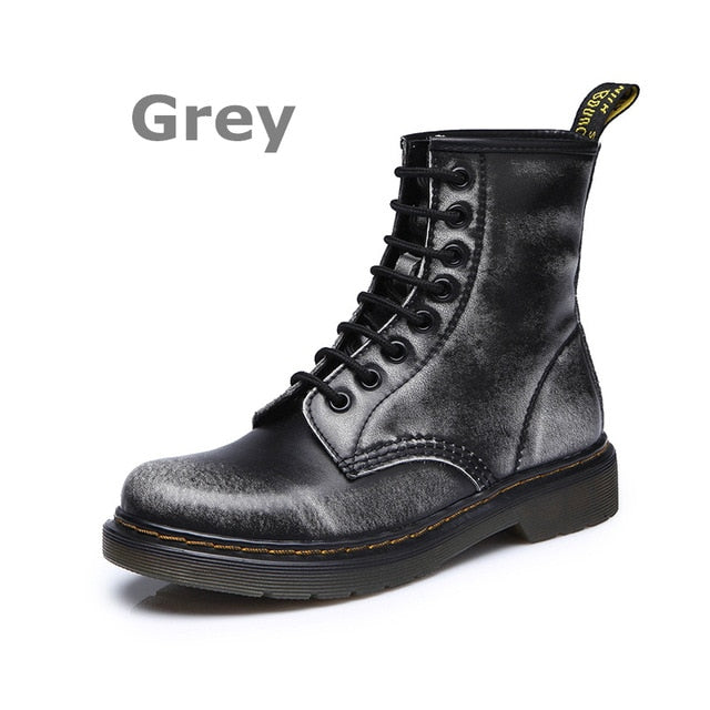 DONGNANFENG Women's Female Ankle Boots Shoes