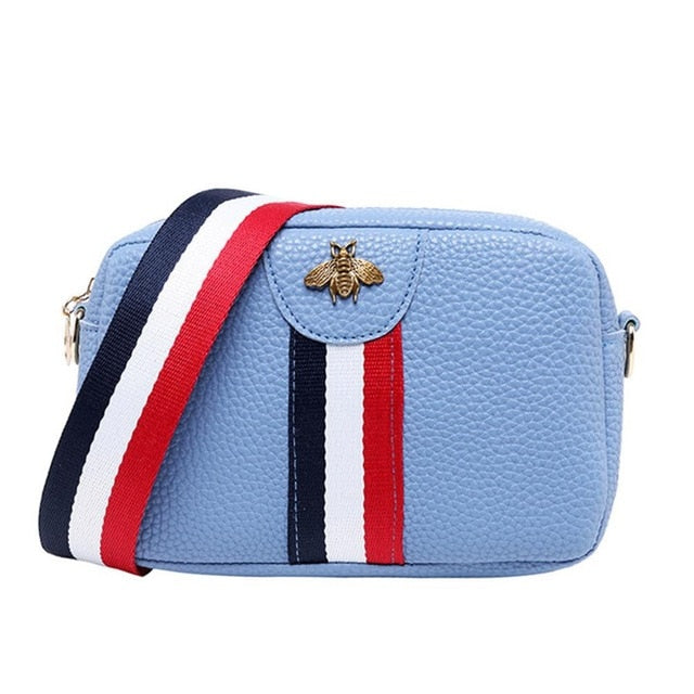 Female Casual Rectangle Shape Mini Portable Single-shoulder Bag