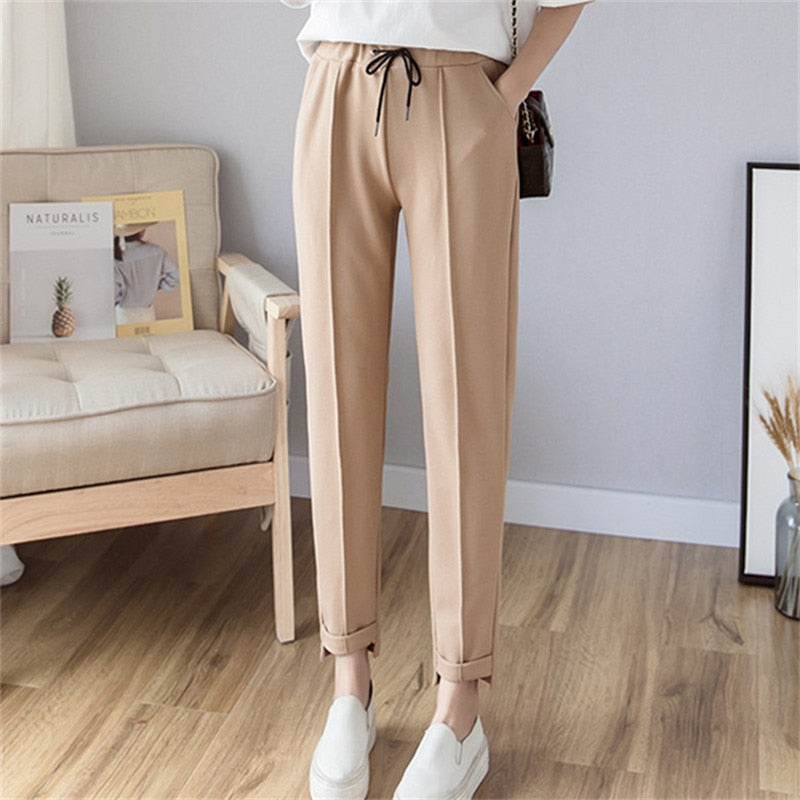 Women Harem Pants 2019 Spring Summer Female