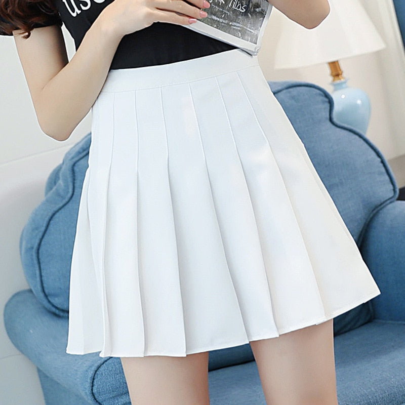 2019  Womens Korean Schoolgirl Streetwear Skirts