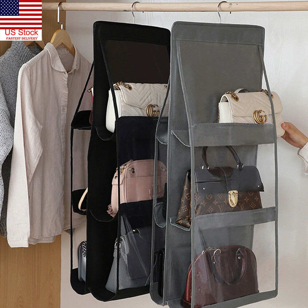 New Arrival Practical 6 Pockets Clear Hanging