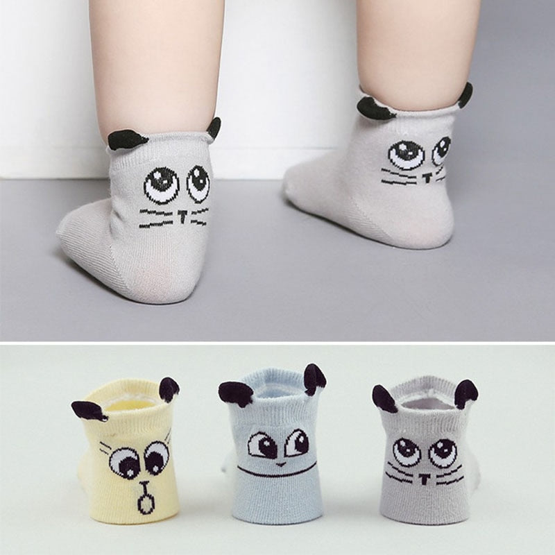 2019 Spring/Autumn Winter Baby Cotton Socks