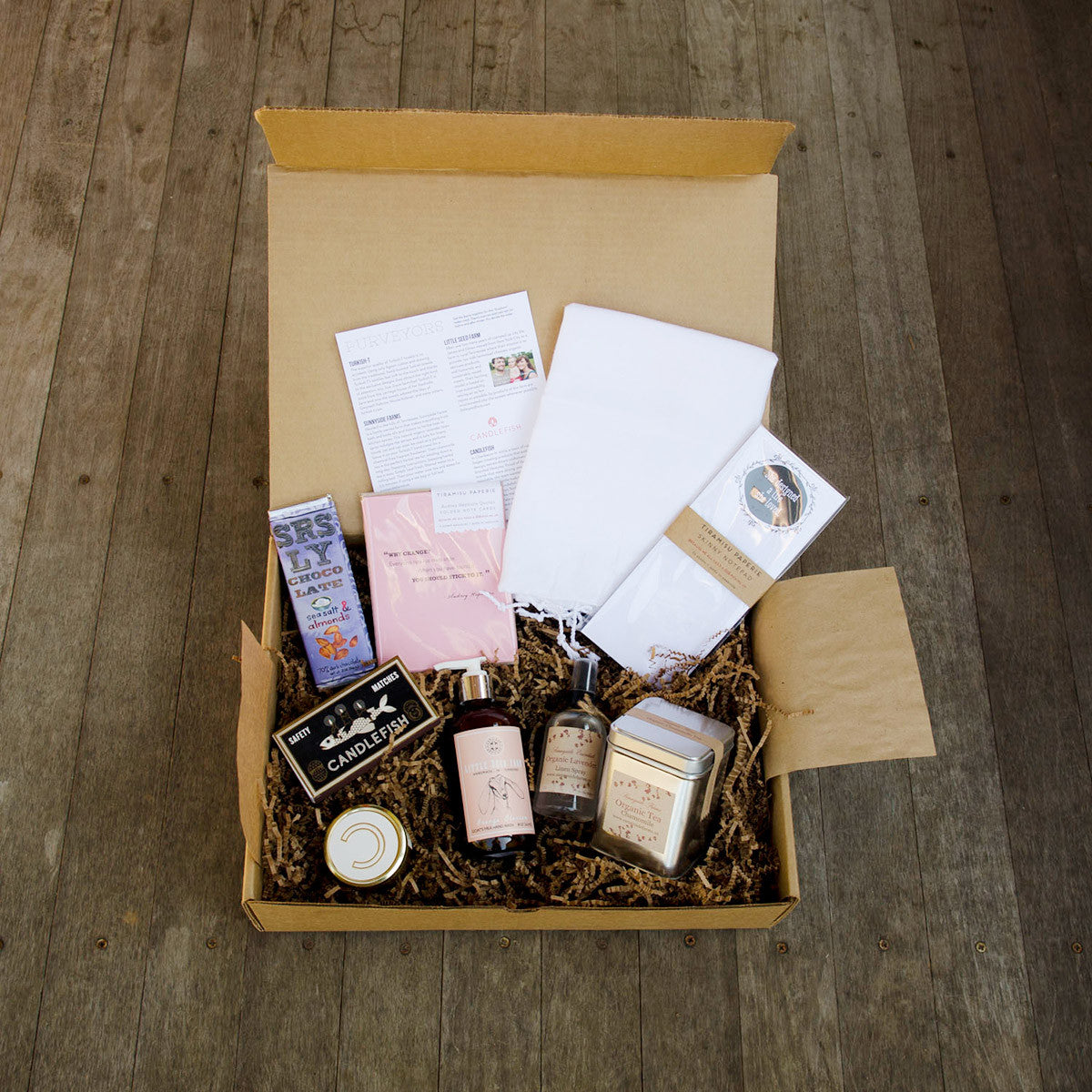 A Peek Inside the Box - The First Women's Deluxe Batch Subscription Discovery Box