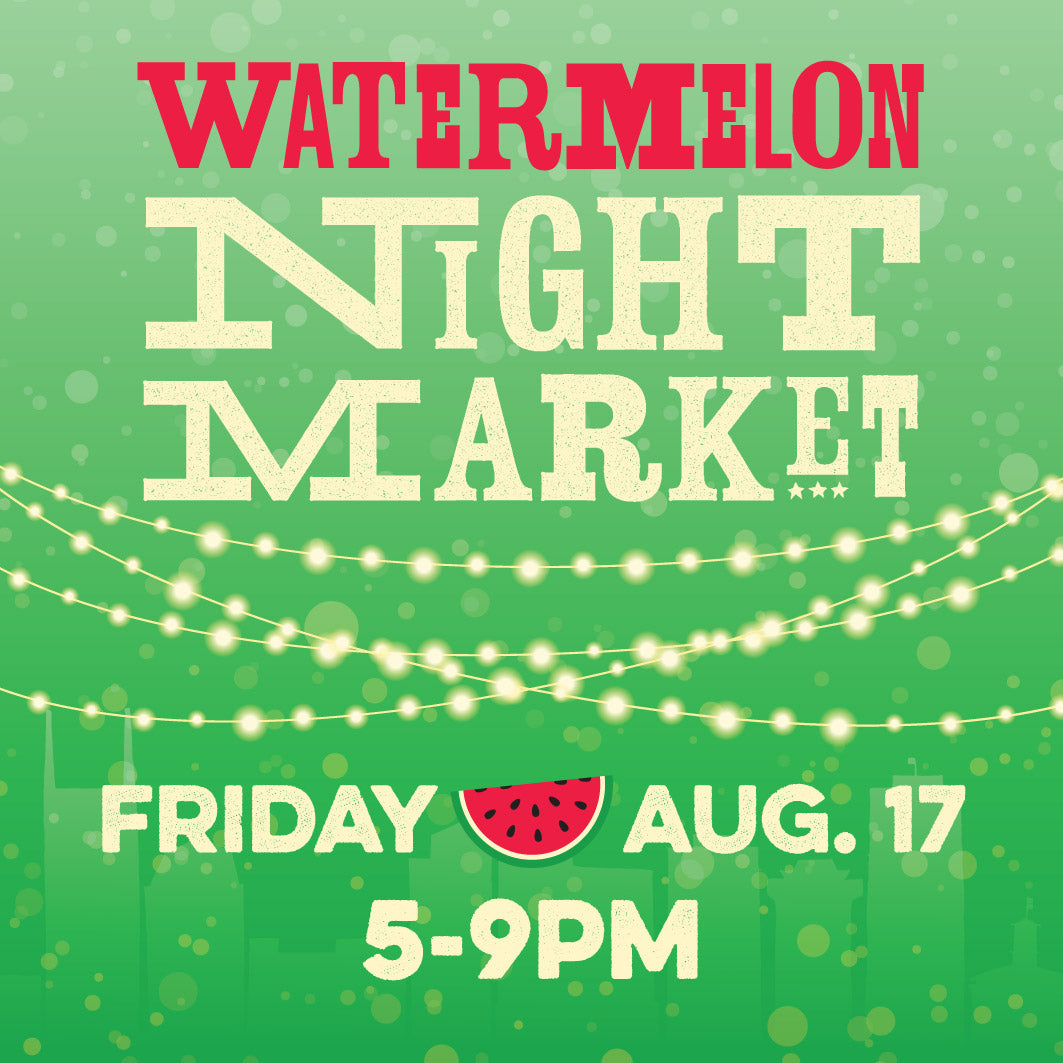 Watermelon Weekend at the Nashville Farmers' Market