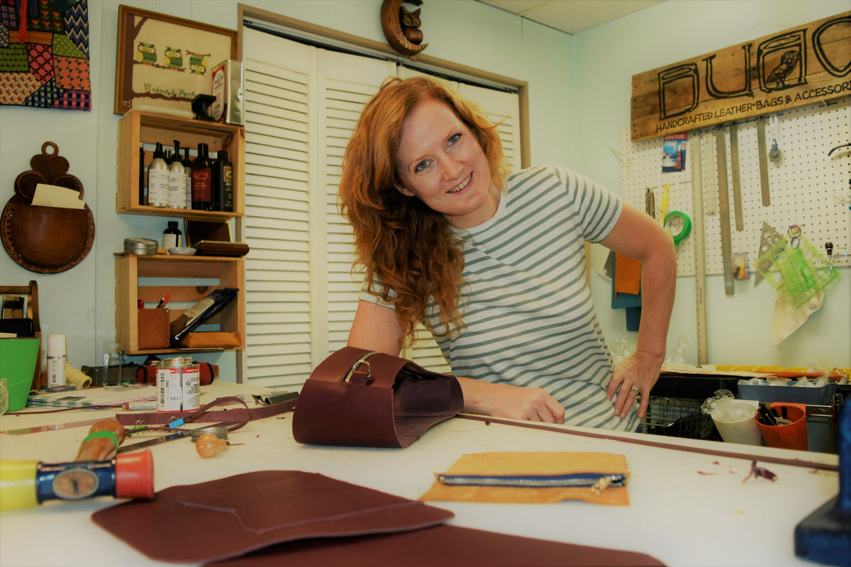 Meet the Maker: Kristen Faircloth of Bubo Handmade