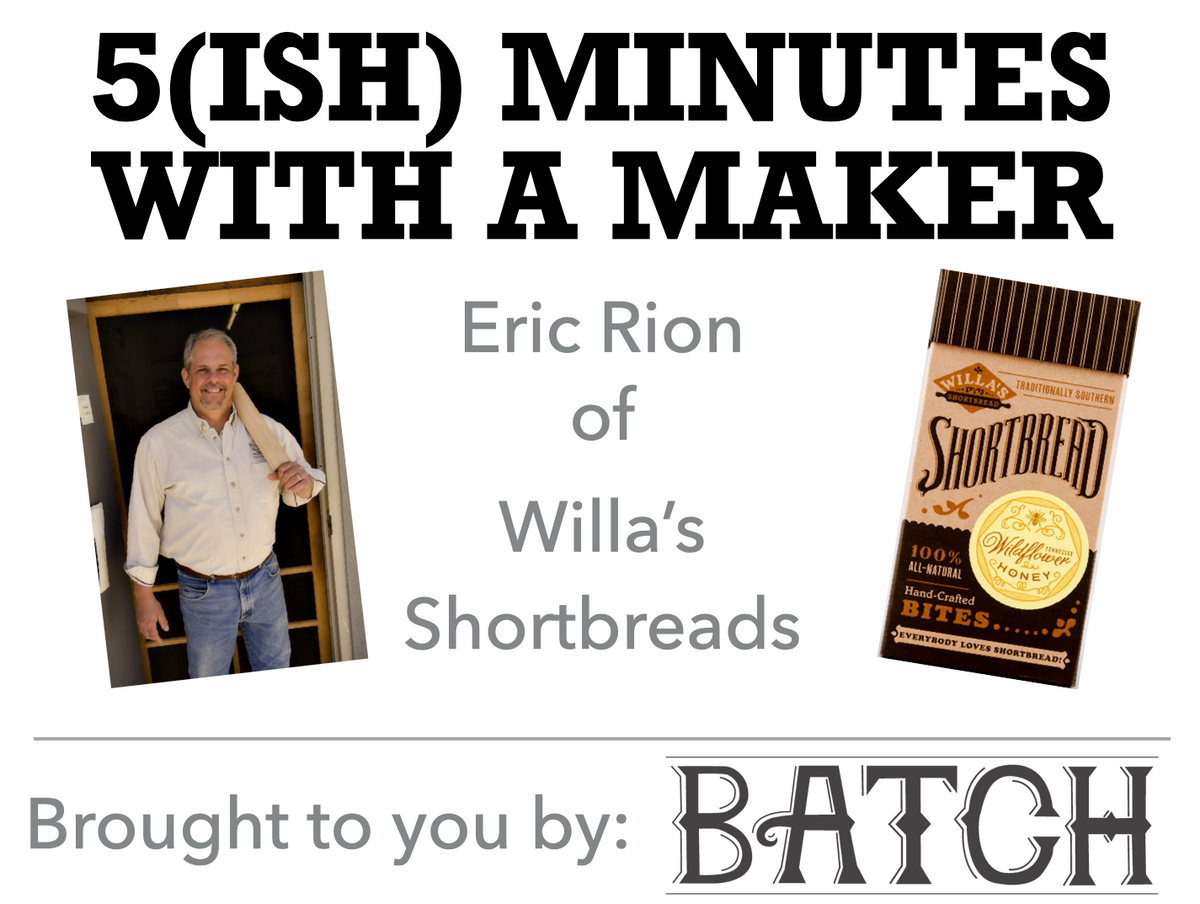 5(ish) Minutes with a Maker - Willa's Shortbread