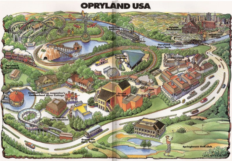 Where'd That Go? #0002 - Opryland Rides