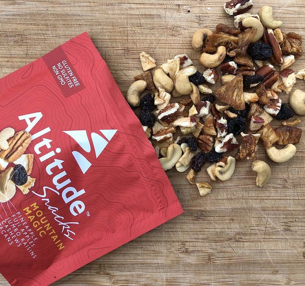 Altitude Snacks Open Bag of Trail Mix