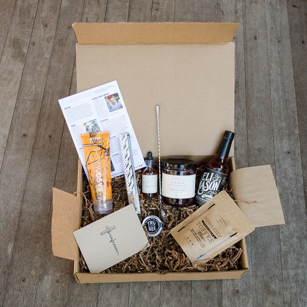 A Peek Inside the Box - The First Men's Deluxe Batch Subscription Discovery Box