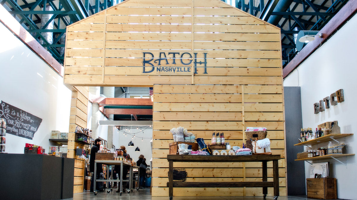 Batch Nashville store in the Nashville Farmers Market
