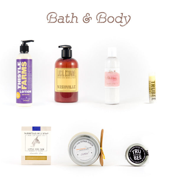 Bath and body teacher gifts
