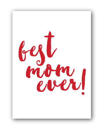 Batch Subscription Mother's Day Card