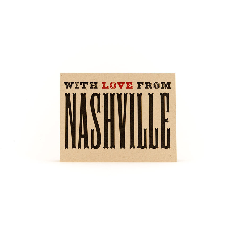 With Love From Nashville stationery set | Airbnb gift ideas from Nashville