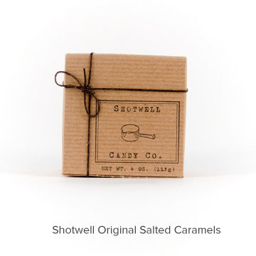 Shotwell Candy Company Original Salted Caramels