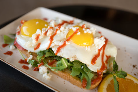 Egg Sandwich from The Cafe at Thistle Farms in Nashville