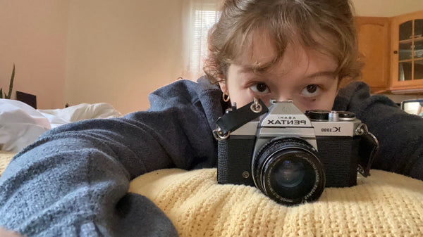Erica with camera