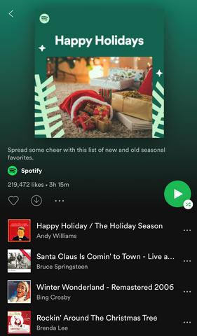 Spotify Playlist for Your Virtual Office Holiday Party
