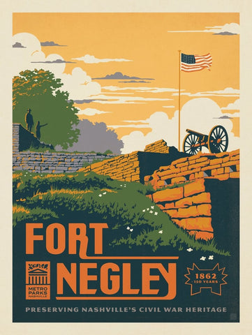 Metro Parks: Fort Negley by Anderson Design Group
