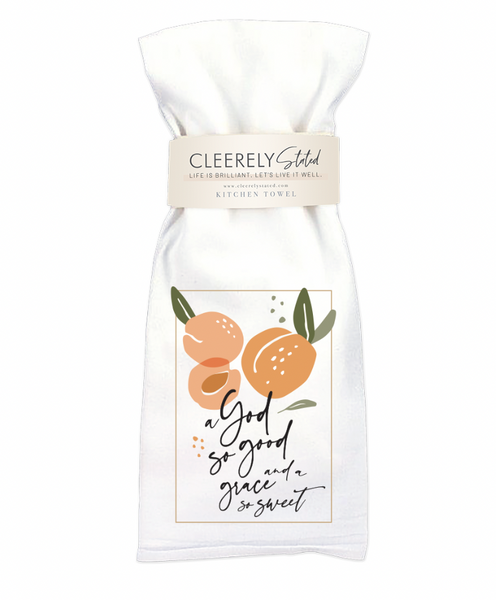 Cleerly Stated Towel