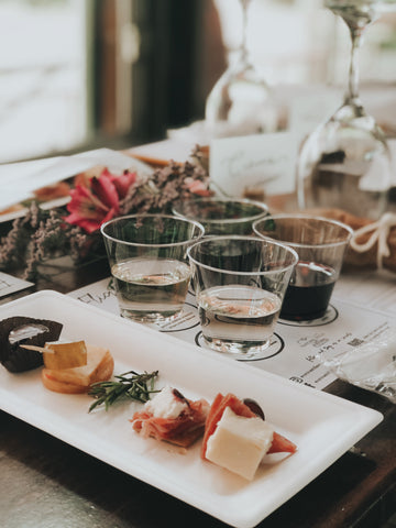 Pair your charcuterie platter with a wine tasting at Natchez Hills Winery
