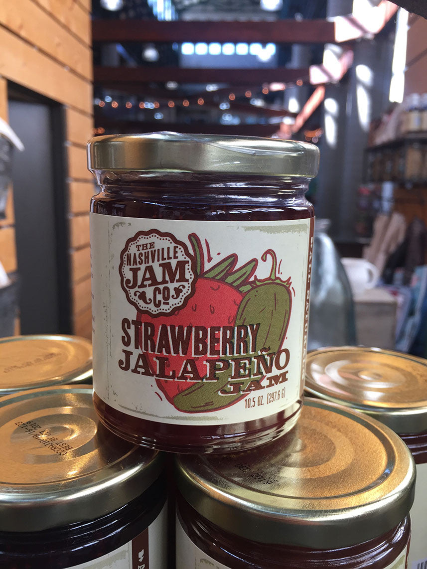 Nashville Jam Co. Strawberry Jalapeno Jam