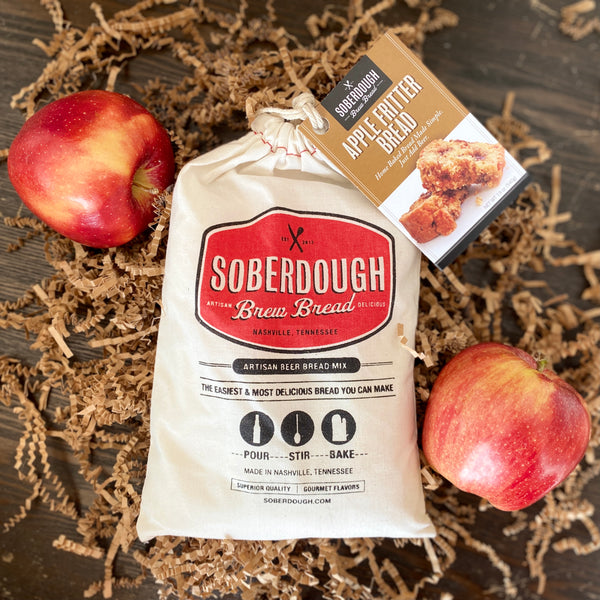 Soberdough Bread Mix with Two Apples