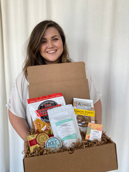 Brittany with a Batch Box