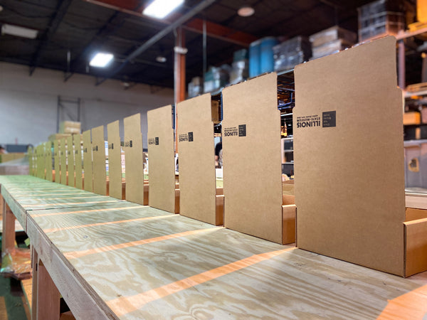Illinois Open Boxes Lined Up