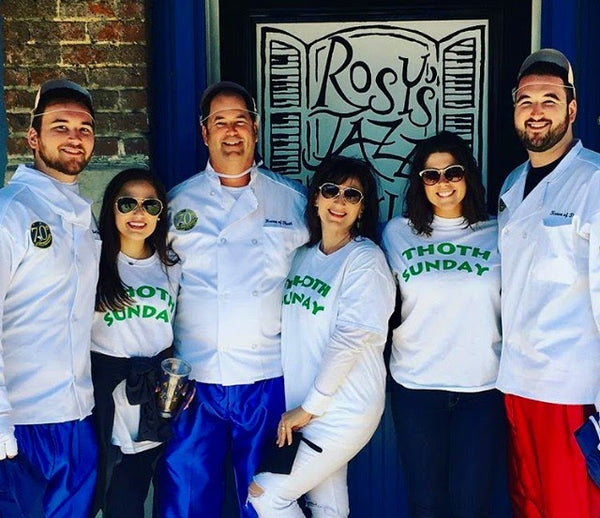 Rhonda in New Orleans with her Family