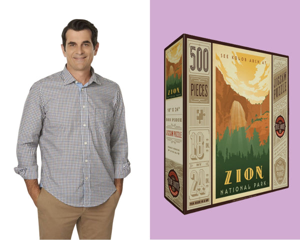 Phil Dunphy with True South Puzzle