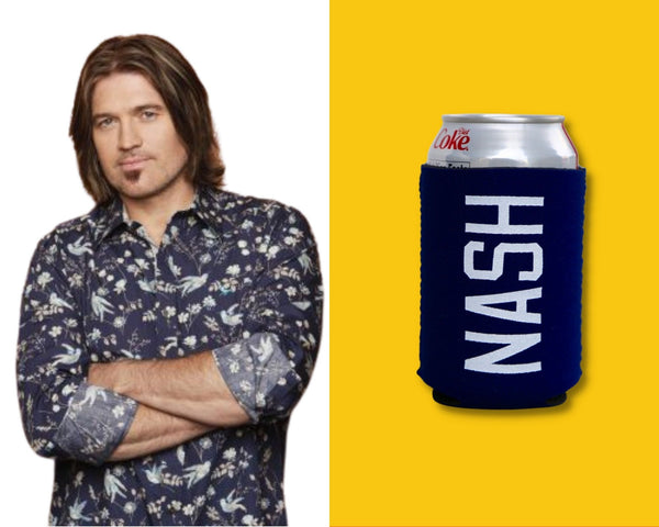 Billy Ray Cyrus with Nash Coozie