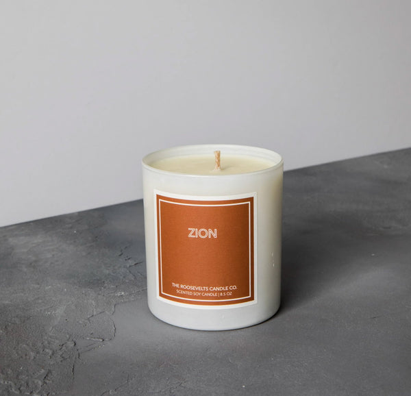 Roosevelts Candle Co Zion Candle
