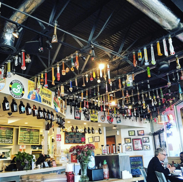 Kay Bob's Nashville local restaurant with craft beer