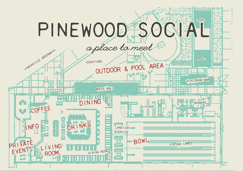 Pinewood Social | Nashville TN local restaurant