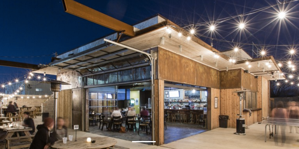 Lustre Pearl East | Austin Texas patio and bar