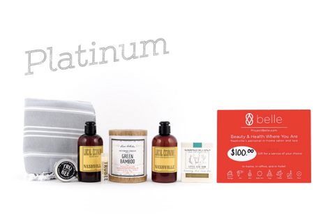 Nashville Spa Day Platinum Gift Batch