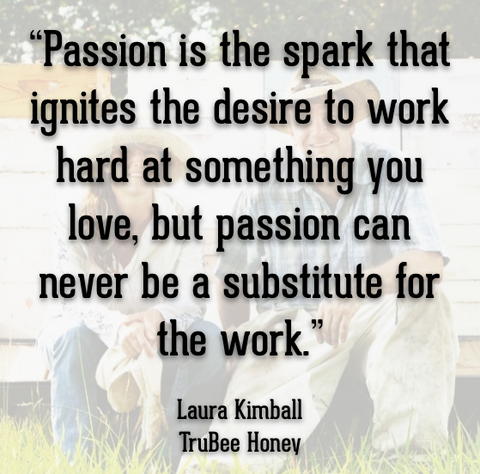 Passion and entrepreneurship