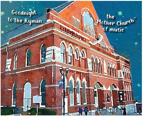 Goodnight Nashville Book - Goodnight Ryman