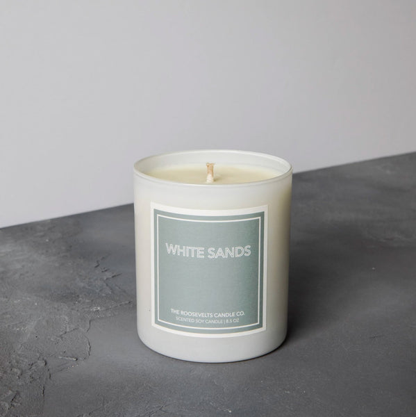 Roosevelts White Sands Candle
