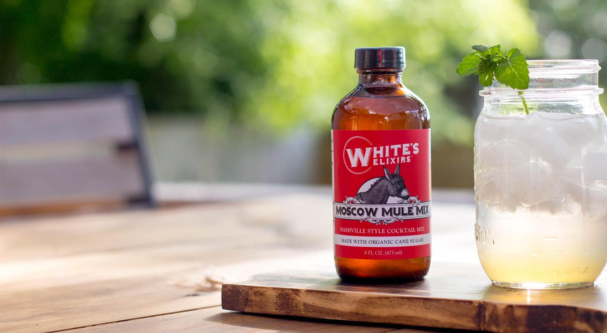Moscow Mule Mix from White's Elixirs | made in Nashville, TN