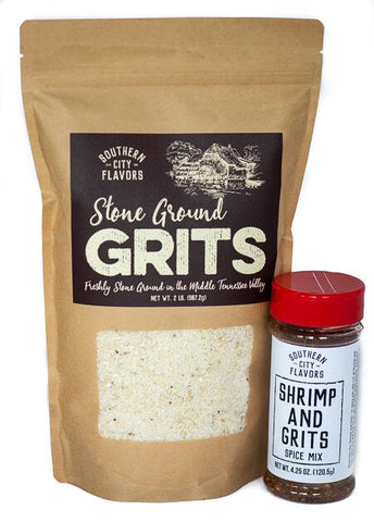 Southern City Flavors Grits and Shrimp & Grits Mix from Batch