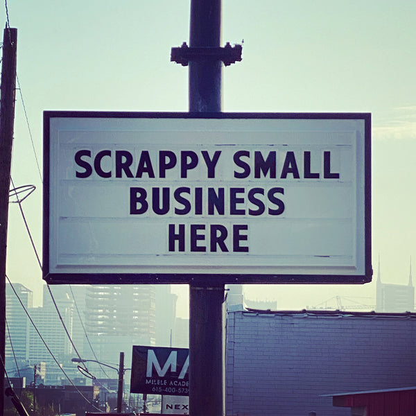 Scrappy Small Business Here