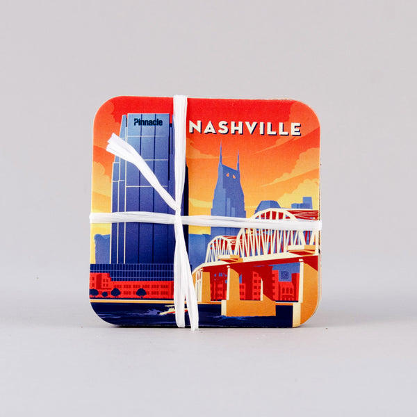 Spirit of Nashville Coaster Set (4)