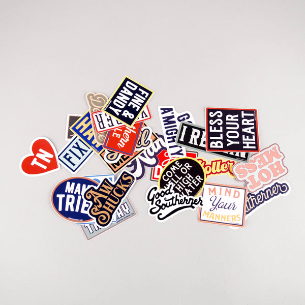 Good Southerner Vinyl Stickers