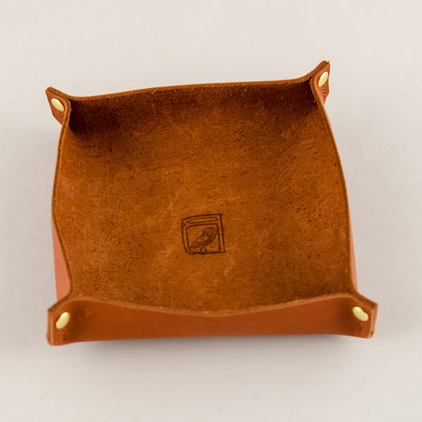 Bubo Leather Valet Tray