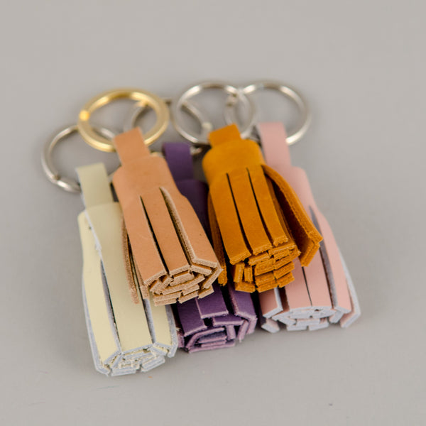 Bubo Tassel Key Chain