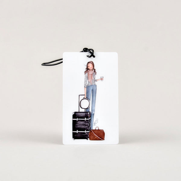 Brittany Fuson Luggage Tag