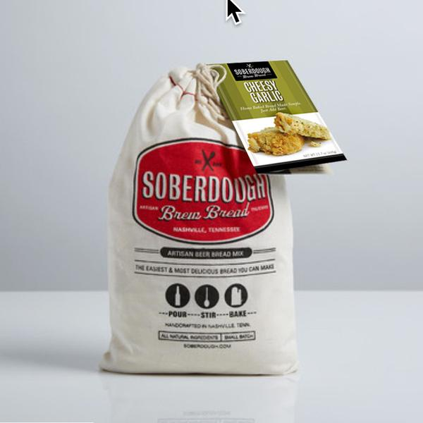 Soberdough bread mix from Batch for an alternative St. Patrick's Day green gift