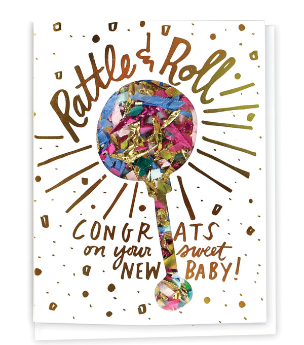 Thimblepress Confetti-Filled Card