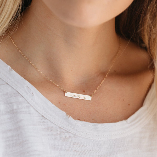 ABLE Horizon Necklace